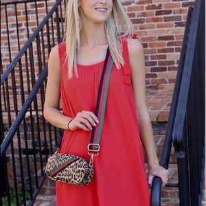 Juliet Leopard Print Belt Bag